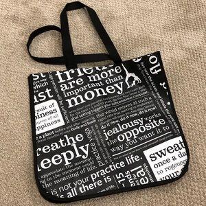 3/$20💞  NEVER USED Lululemon reusable tote bag